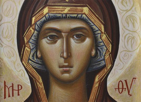 Богородица Оплечная. Павел Вещев, 2021