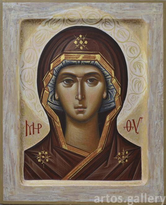 Богородица Знамение Оплечная. Павел Вещев, 2021.