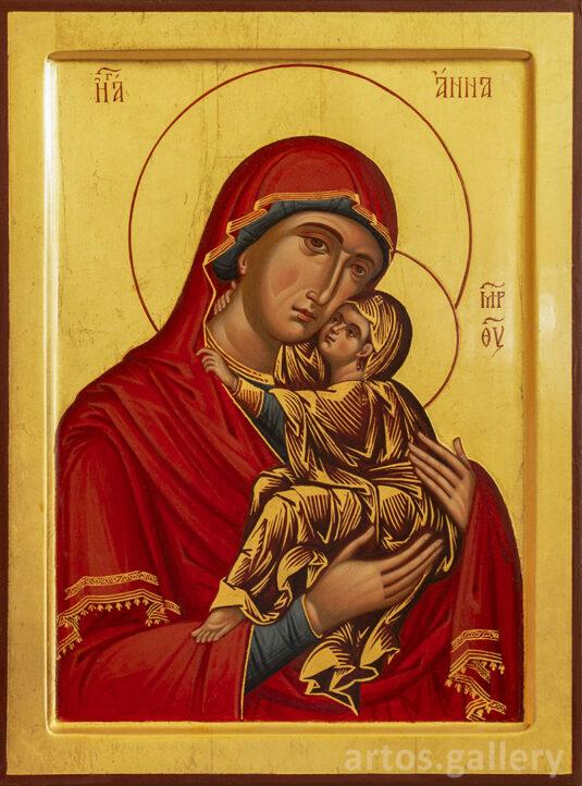 Св. праведная Анна и младенец Мария